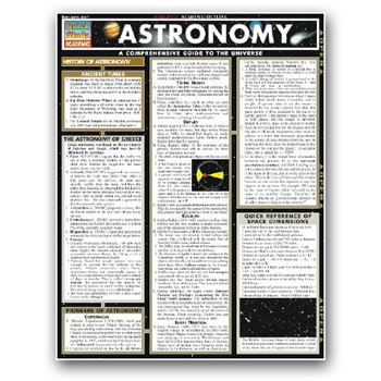 Image For QUICK STUDY ASTRONOMY