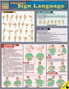 Image For QUICK STUDY AMERICAN SIGN LANGUAGE